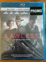Lawless (Blu-ray + DVD  2012 ) rare promo copy......celophane has a small tear..