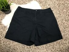 Nike Golf Dri Fit Mujer Pequeño Pantalones Deporte Negro Bolsillos Elástico Sz