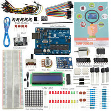 SunFounder New Lab Project Uno R3 + Super Starte Kit  V2.0 For Arduino Mega Nano