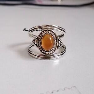 Carnelian Ring 925 Sterling Silver Ring Handmade Ring Women Ring R178