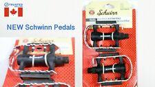 Schwinn Alloy Bicycle Bike Pedals Set of 2 (9/16 in) Aluminum Brand New! G3