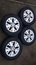 Volkswagen Transporter, VW T5 Highline Genuine Alloy Wheels and Tyres. Sportline
