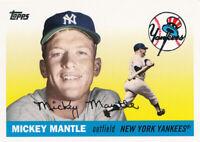 Mickey Mantle 2007 Topps #MMS46 New York Yankees HOF baseball card