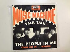 "MUSIC MACHINE: Talk Talk +3- France 7"" Vinyl 1966 Disques Vogue INT.18121 EP PCV"
