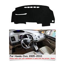 Car Dashmat Dashboard Mat Carpet Sun Shade Cover For Honda Civic 2005-2010 Years