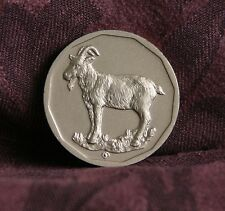 Year of The Goat Thailand World Coin 12 Chinese Zodiac Animals on the Reverse