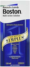 Bausch & Lomb Boston Simplus Multi Action Solution For Rgp Lenses - 120ml