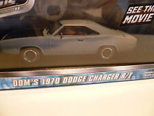 DODGE CHARGER R/T DOM'S de 1970 : FAST & FURIOUS ~  NEUF
