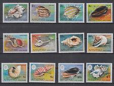 Cook-Inseln - Aitutaki Mi.-Nr. 94-105 aus 1974 - postfrisch - Weichtiere