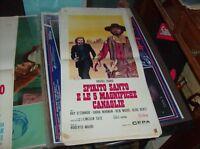SPIRITO SANTO E LE 5 MAGNIFICHE CANAGLIE locandina originale 1973 VASSILI KARIS