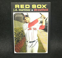 SP! 🚨J.D. Martinez 2020 Topps Heritage High Number #423 Boston Red Sox