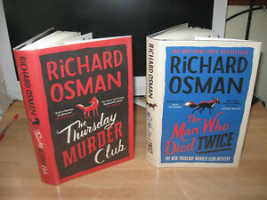 Richard Osman Signed The Thursday Murder Club Man Who Died matching Numbered 1st