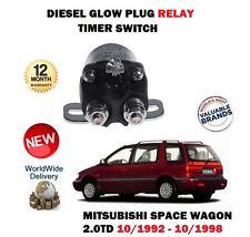 FOR MITSUBISHI SPACE WAGON 2.0TD N38W 1992-1998 NEW GLOW PLUG TIMER RELAY SWITCH