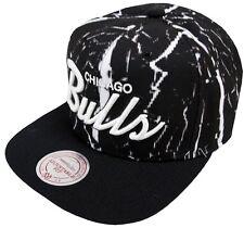 Mitchell & Ness Chicago Bulls Shatter EU698 Snapback Cap Kappe Basecaps Mens New