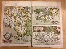 MERCATOR HONDIUS Atlas 1623  Antique Original Corsica France map