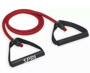 SPRI Original Xertube Resistance Bands Exercise Cords Red Medium New in package