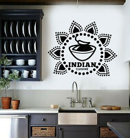 Vinyl Wall Decal Cuisine Cooking Kitchen Decor Hot Food Stickers Mural (g1415)