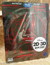 Marvel AVENGERS AGE OF ULTRON Blu-Ray 3D+2D KOREA STEELBOOK + Bonus Slipcover