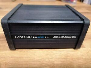 1 Canford Audio AES/EBU Access Box Kaum Gebraucht