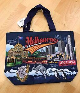 6 X Australian Souvenir Large Travel Bags New Designs Melbourne Koala Kangaroo