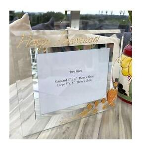 Personalised/Non personalised 35th Anniversary Picture Photo Frames Land