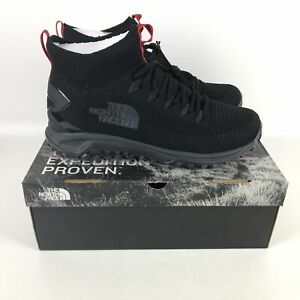 The North Face Truxel Mid Hiking Shoes Men's Size 12.5 TNF Black NFOA3WZBCAO-125