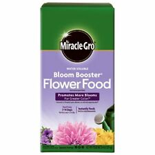 Miracle-Gro 146002 Water Soluble Bloom Booster Flower Food, 10-52-10, 4-Pound