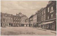 Romsey Market Place, Hampshire 1910 Postcard, BC003