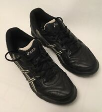 ASICS Gel-Lethal MP5 Hockey/Lacrosse Black Cleats Shoes Sneakers Women's 10