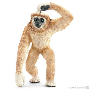 NEW WITH TAGS SCHLEICH 14717 Gibbon Monkey - Asian Wild Life RETIRED