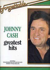 JOHNNY CASH greatest hits UNFORGETTABLE holland 1981 EX LP