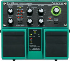 Boss SL-20 Slicer Pedal Audio Pattern Processor , New!