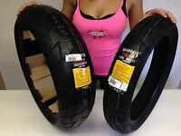 New 120/70 ZR 17 Front 180/55 ZR 17 Rear Shinko 009 Raven  Motorcycle Tire set