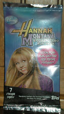 Hannah Montana Sticker Card Fun Pack Trading Cards by Topps