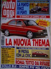 Auto Oggi 5 1994 Rinnovo gamma Lancia. Test nuova Honda Coupè e Civic [Q70]