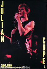 Julian Cope 1987 Saint Julian Original Promo Poster Teardrop Explodes