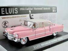 "1955 Cadillac Fleetwood Series 60  pink  ""ELVIS""  / Greenlight Hollywood 1:43"