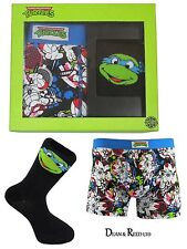 Mens Underwear Boxer Shorts / Socks Set Teenage Mutant Ninja Turtles Small
