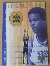 2001-02 Upper Deck Hardcourt UD Game Floor #CW  Chris WEBBER