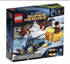 LEGO DC Superheroes 76010 Batman The Penguin Face Off Retired!! Brand New!!