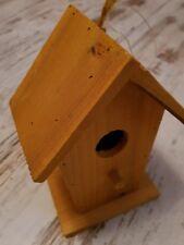 """*NEU* Vogelhaus// Hänger /""""Welcome/"""" Holz rot//blau 26 cm ho"""