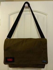 Messenger Bag Jack Spade Greene St. Olive and Orange Branded by TED