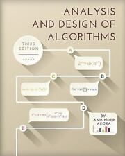Analysis and Design of Algorithms : (Third Edition) by Amrinder Arora (2016,...