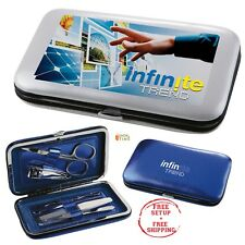 Personalized Manicure Set Printed with Your Company Name / Logo / Text - 25 Qty