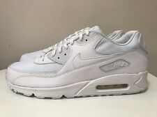 Nike Air Max 90 Essential Trainers Size UK 14 EUR 49.5 Triple White 537384 111