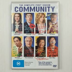 Community Complete First Season 1 DVD - Region 4 PAL - TRACKED POST