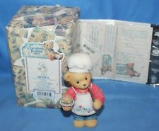 Cherished Teddies Dennis You Put The Spice In My. Figurine # 510963 1998 Enesco