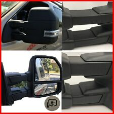 For 99-07 Ford F250-F550 Super Duty Excursion Tow Mirrors W/Power Heated Signal