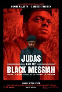 Judas & Black Messiah (2021) D/S Orig Movie Poster 2-Sided 27x40 Kaluuya LaKeith