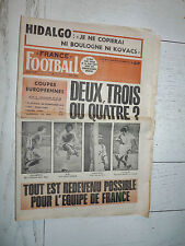 FRANCE FOOTBALL 1538 30/09 1975 EUROPE ASSE LENS LYON OM HIDALGO RDA DDR
